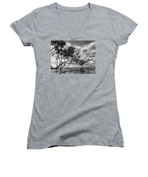 Key Largo Mangroves Women's V-Neck