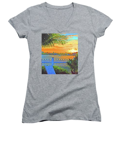 Key West Life Style Women's V-Neck