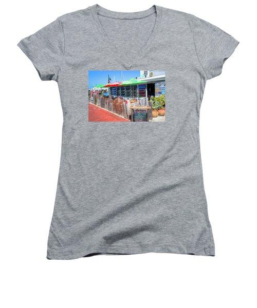 Key West Raw Bar Women's V-Neck T-Shirt