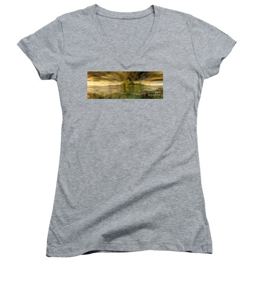 King Kongs Island Women's V-Neck T-Shirt