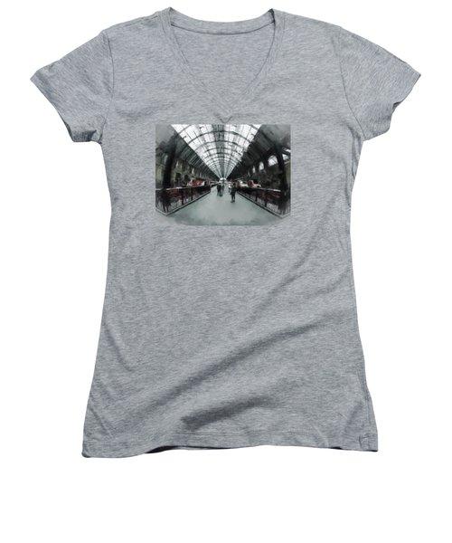 Kings Cross London Women's V-Neck T-Shirt