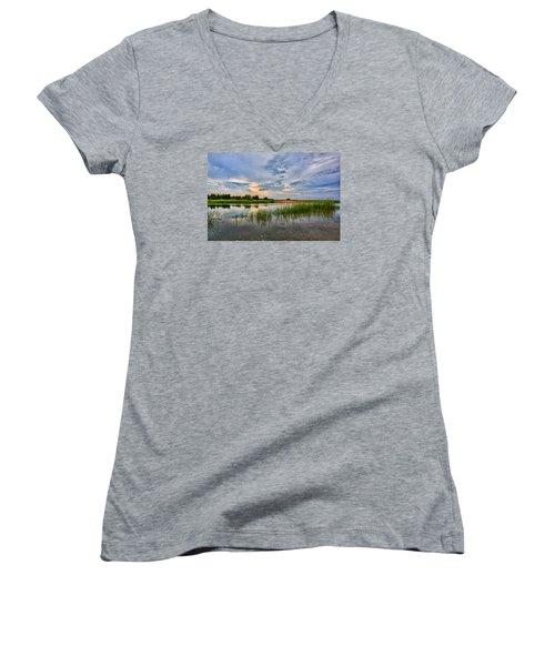 Kings Park Bluffs Women's V-Neck T-Shirt