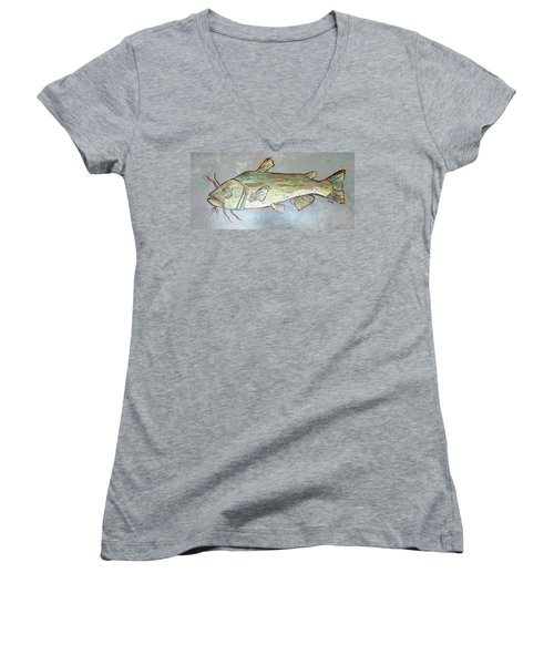 Kitty The Catfish Women's V-Neck T-Shirt
