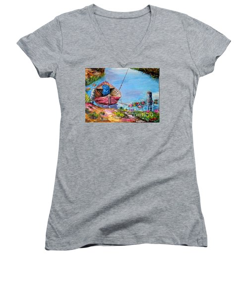 Klotok 2 Women's V-Neck T-Shirt