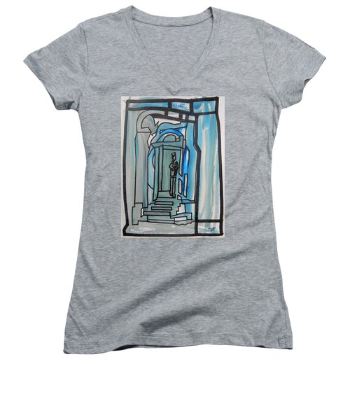 Knocking On Heaven's Door Women's V-Neck