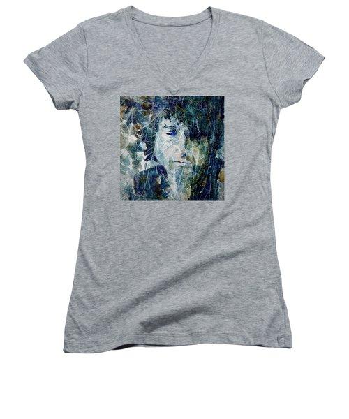 Knocking On Heaven's Door Women's V-Neck T-Shirt