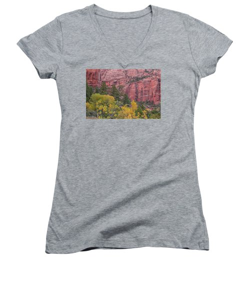 Kolob Canyon Colors Women's V-Neck