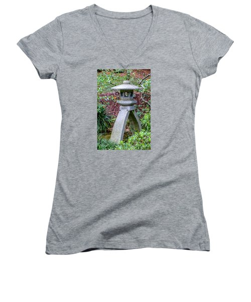 Kotoji Lantern  Women's V-Neck T-Shirt