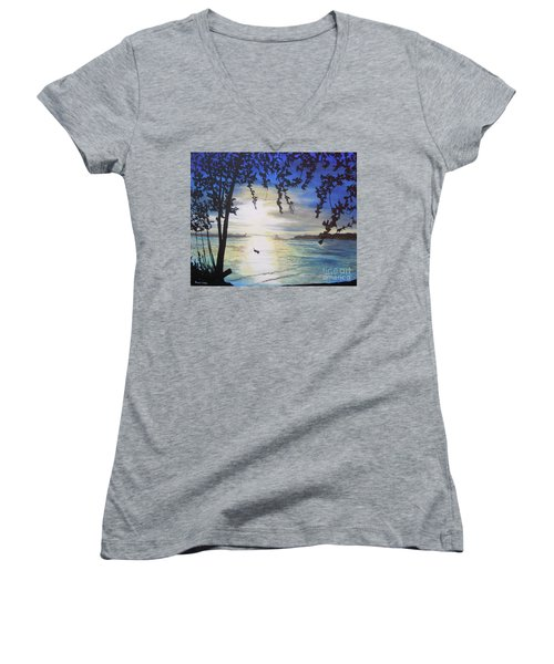 Krabi Women's V-Neck T-Shirt