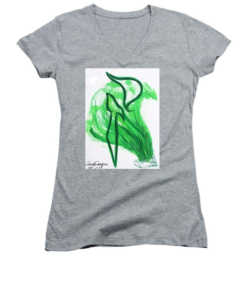 Kuf In The Reeds Women's V-Neck (Athletic Fit)