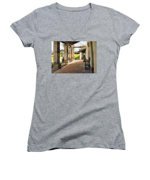 La Purisima Long View Women's V-Neck T-Shirt