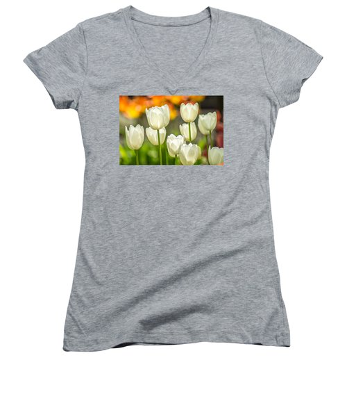Ladies In White Women's V-Neck