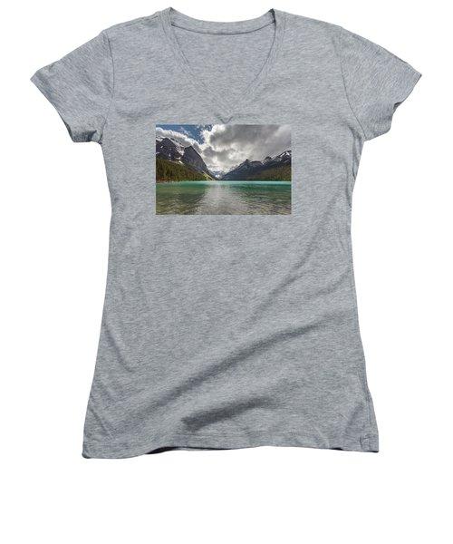 Lake Louise, Banff National Park Women's V-Neck T-Shirt