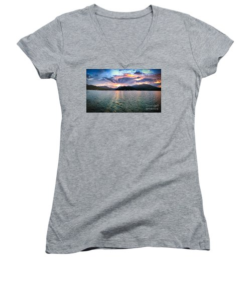 Lake Solstice Women's V-Neck