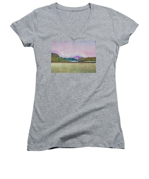 Lakes Of Killarney Women's V-Neck T-Shirt
