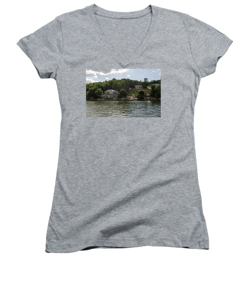 Lakeside Living Hopatcong Women's V-Neck T-Shirt