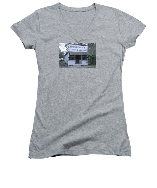 Land And Loan Co Women's V-Neck T-Shirt