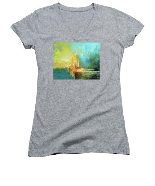 Land Of Oz Women's V-Neck T-Shirt