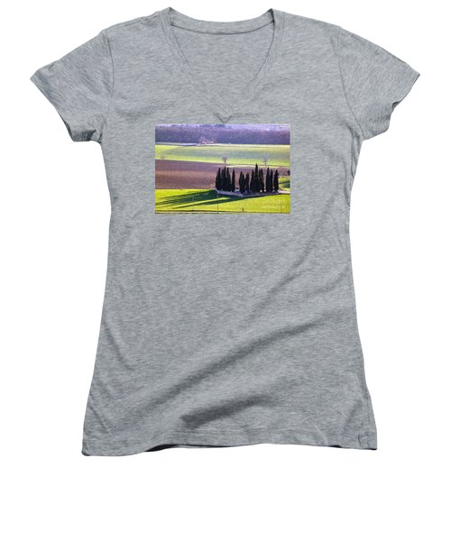 Landscape 3 Women's V-Neck