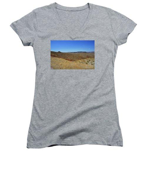 Landscape Of Arizona Women's V-Neck T-Shirt (Junior Cut) by RicardMN Photography