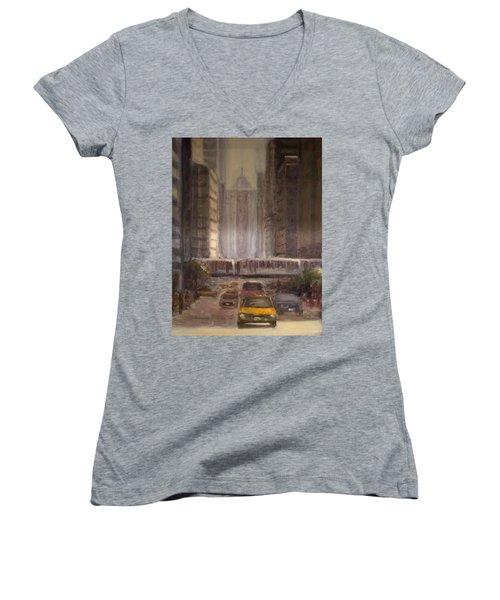 Lasalle Street Women's V-Neck T-Shirt