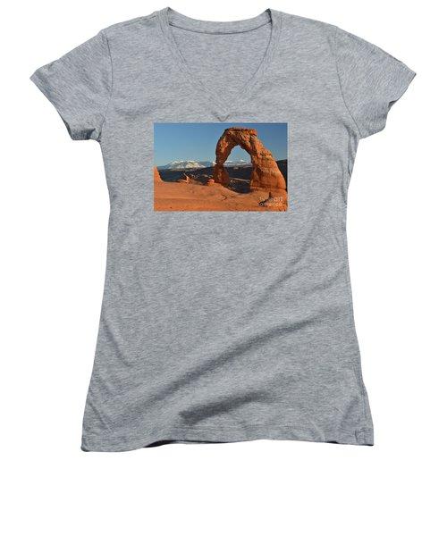 Lasals Framed Women's V-Neck