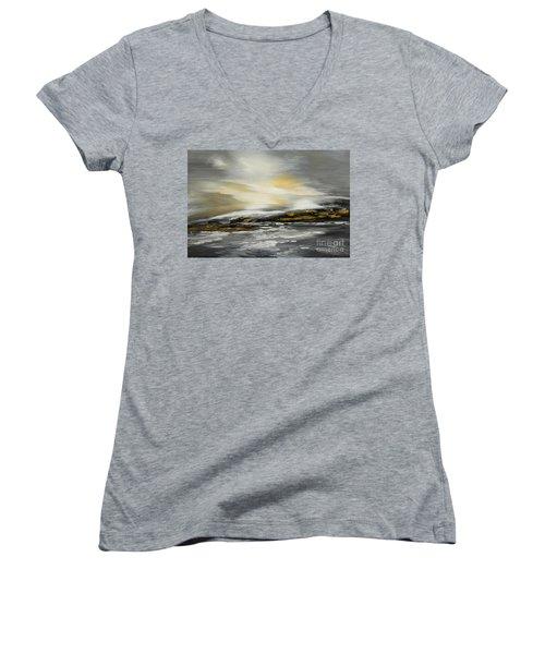 Lashed To Windward Women's V-Neck T-Shirt