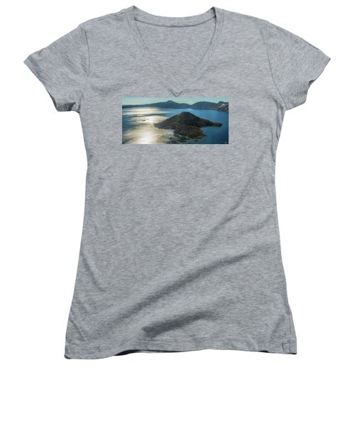 Last Crater View Women's V-Neck