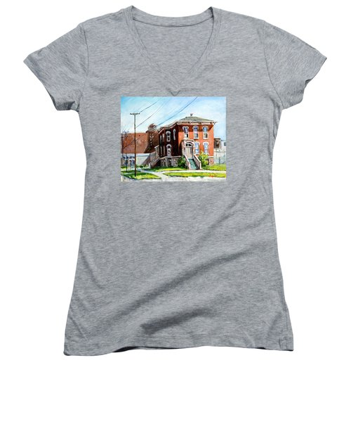 Last House Standing Women's V-Neck