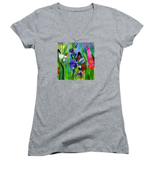 Last Of The Hummers Women's V-Neck T-Shirt