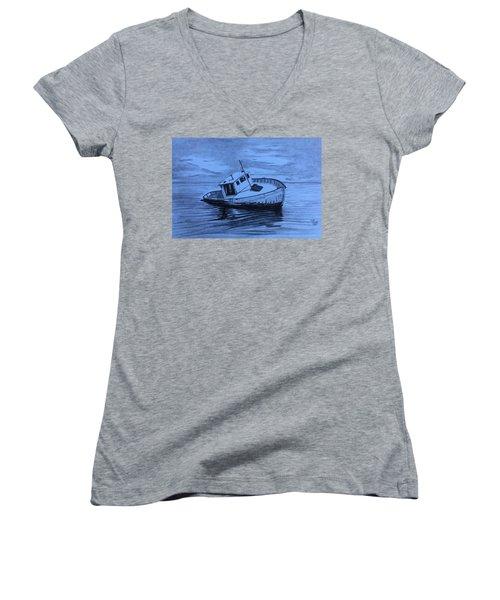 Last Voyage  Women's V-Neck T-Shirt