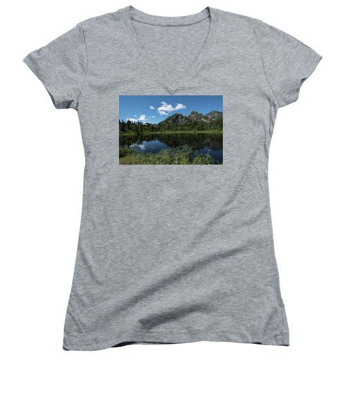 Late Spring Peaks Women's V-Neck (Athletic Fit)