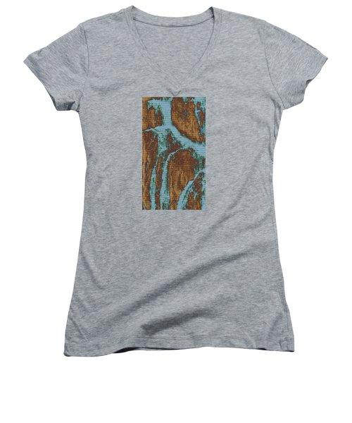 Late Summer Women's V-Neck T-Shirt