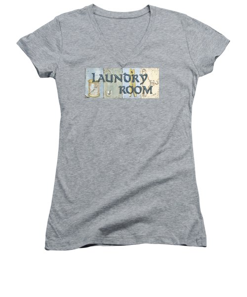 Laundry Room  Women's V-Neck (Athletic Fit)