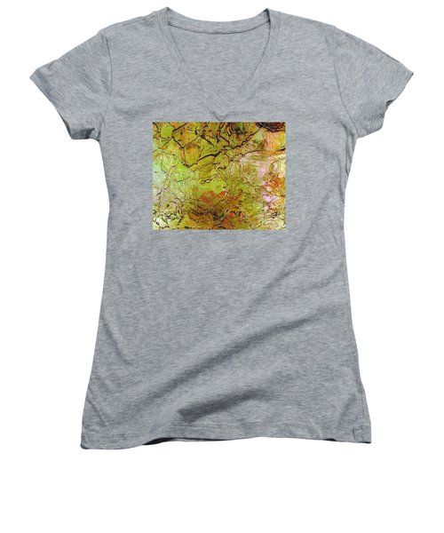 Lava Glass Women's V-Neck T-Shirt
