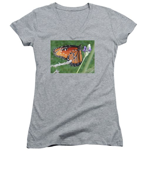 Lavender Lunch Women's V-Neck