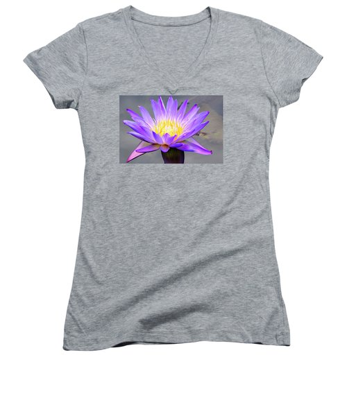 Lavender Women's V-Neck
