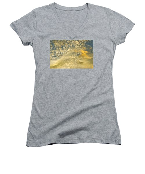 Layers Of Sky Women's V-Neck