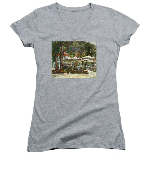 Lazy Morning Women's V-Neck T-Shirt
