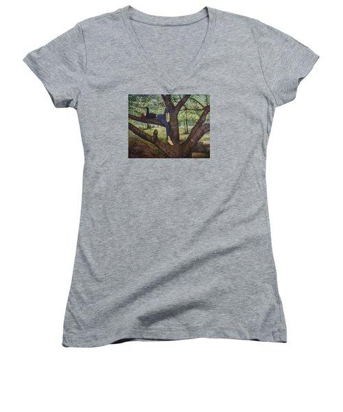 Lea Henry And The Henry Tree Women's V-Neck T-Shirt