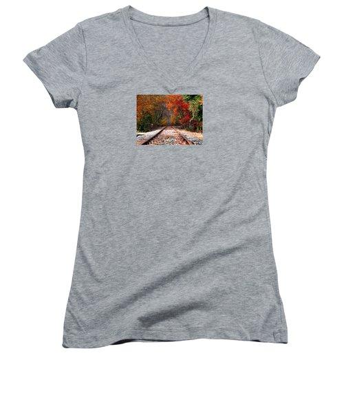 Lead Me Home Women's V-Neck T-Shirt