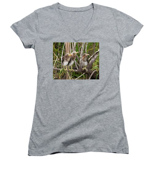 Learning To Be Self Sufficient Women's V-Neck T-Shirt