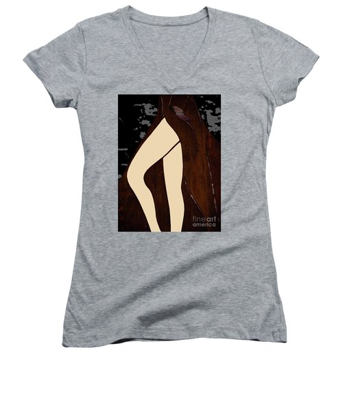 Legs Women's V-Neck