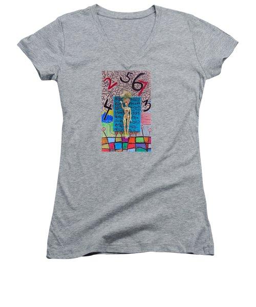 Lemon Balm Herbal Tincture Women's V-Neck T-Shirt