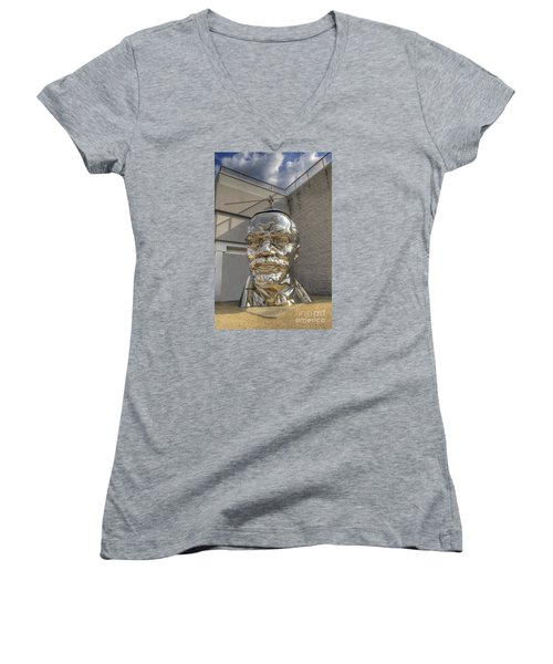 Lenin On La Brea Women's V-Neck