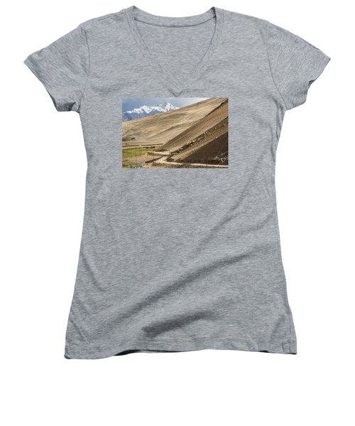 Less Traveled, Karzok, 2006 Women's V-Neck