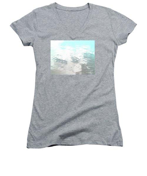 Let It Flow Women's V-Neck T-Shirt