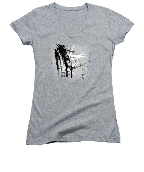 Let It Go Women's V-Neck T-Shirt (Junior Cut) by Melissa Smith