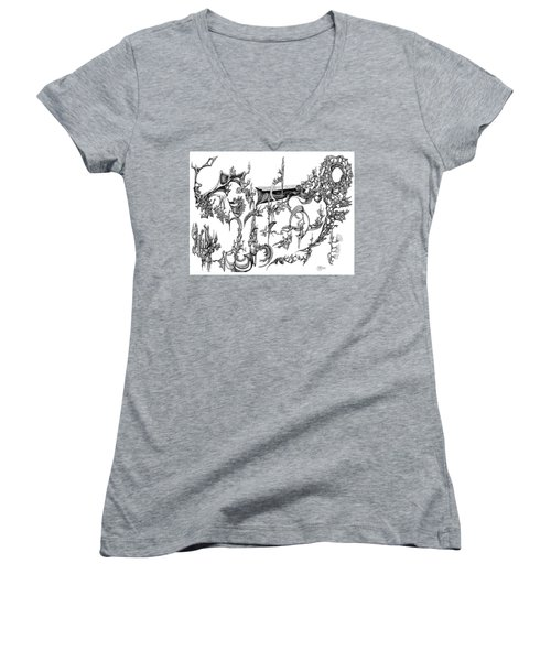 Levitation Women's V-Neck T-Shirt