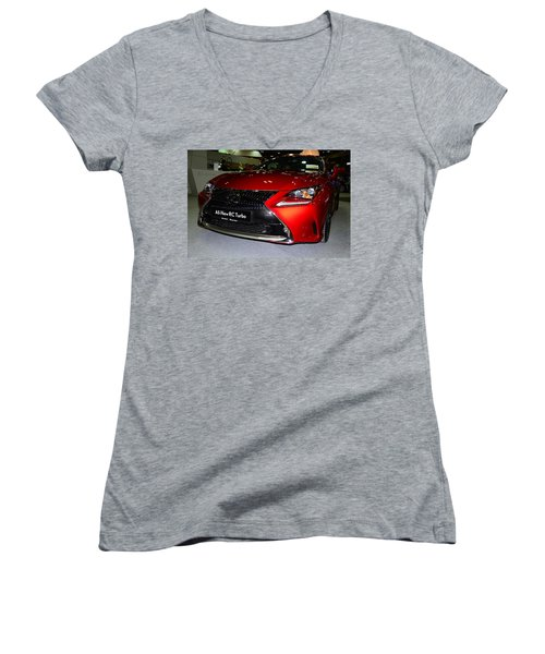 Lexus Rc Turbo Women's V-Neck T-Shirt